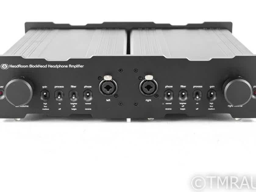HeadRoom BlockHead Dual Balanced Headphone Amplifier / DAC; w/ Stepped Attenuators (21145)