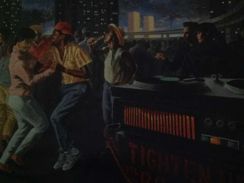 Big Audio Dynamite - Tighten Up Vol 88 Columbia Records Vinyl LP NM