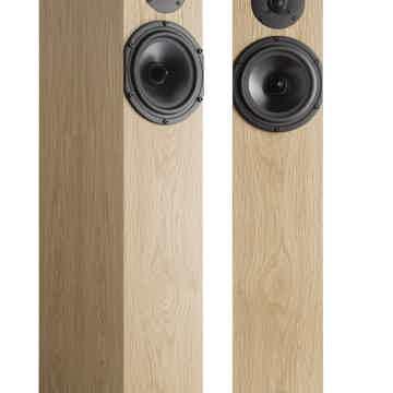 Spendor A4 Floor Standing Speakers - Natural Oak - FACT...
