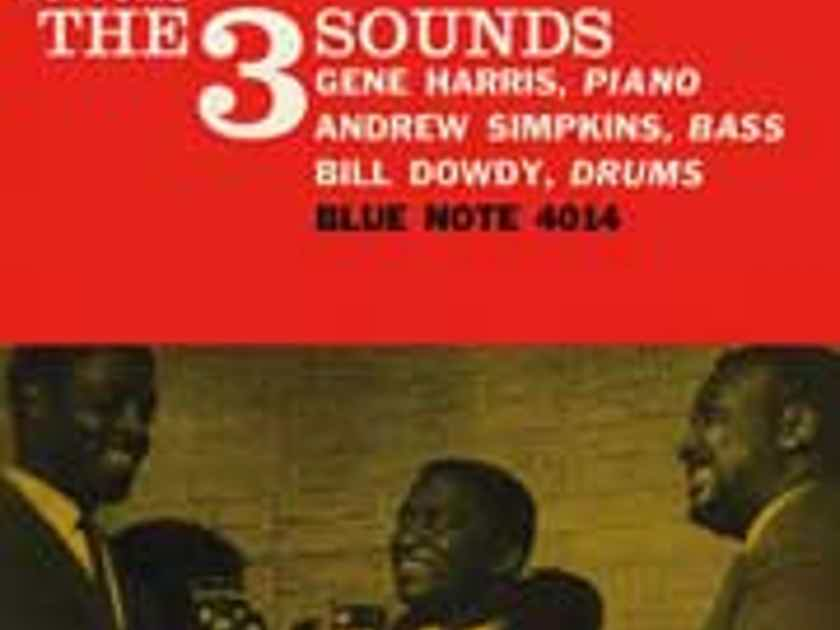 Gene Harris Piano, Simpkins- Bass, Bill Dowdy Bass - Bottoms Up The 3 Sounds