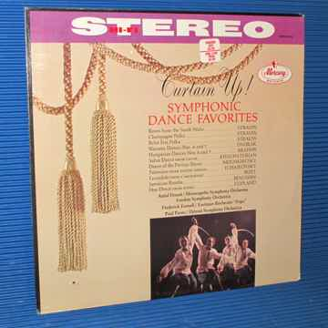 """CURTAIN UP! SYMPHONIC DANCE FAVORITES""   - Works by St..."