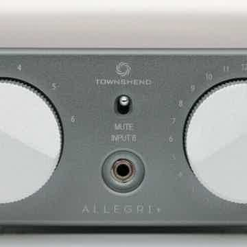 Townshend Audio  Allegri+ like new, free worldwide ship...