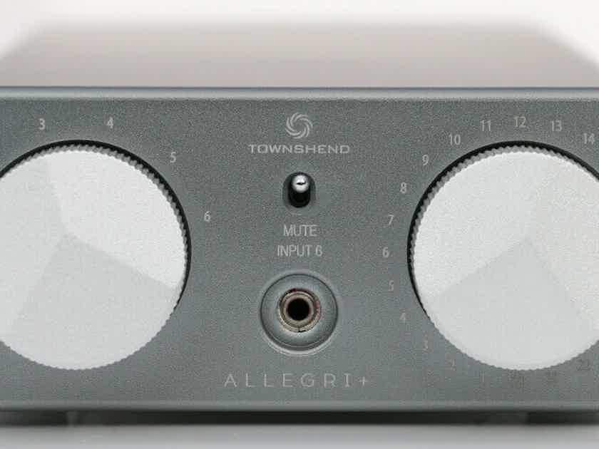Townshend Audio  Allegri+ like new, free worldwide shipping, Superb!