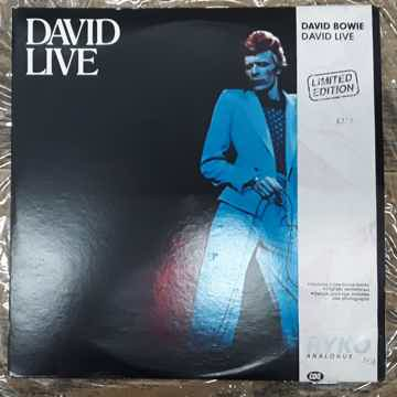 David Bowie - David Live 1990 NM Limited Edition CLEAR ...
