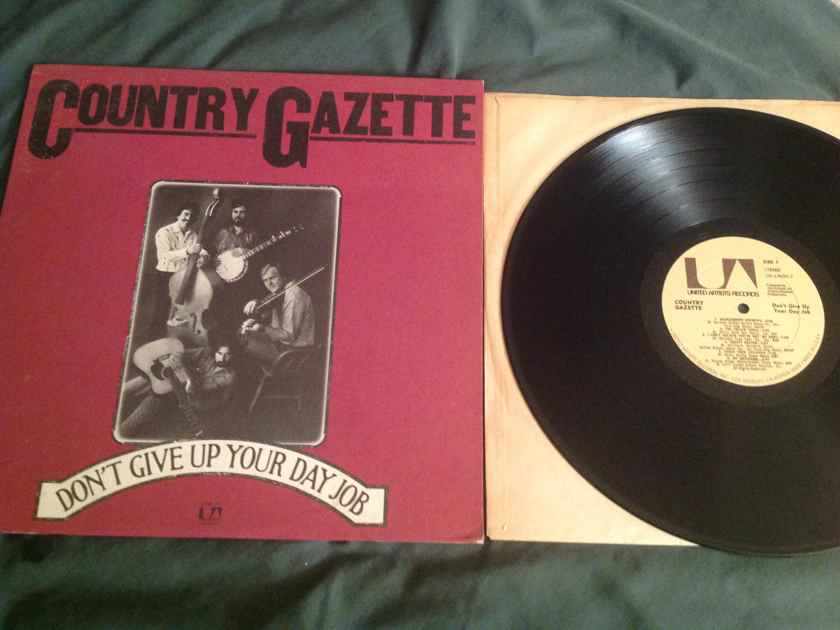 Country Gazette  Don't Give Up Your Day Job United Artists Records