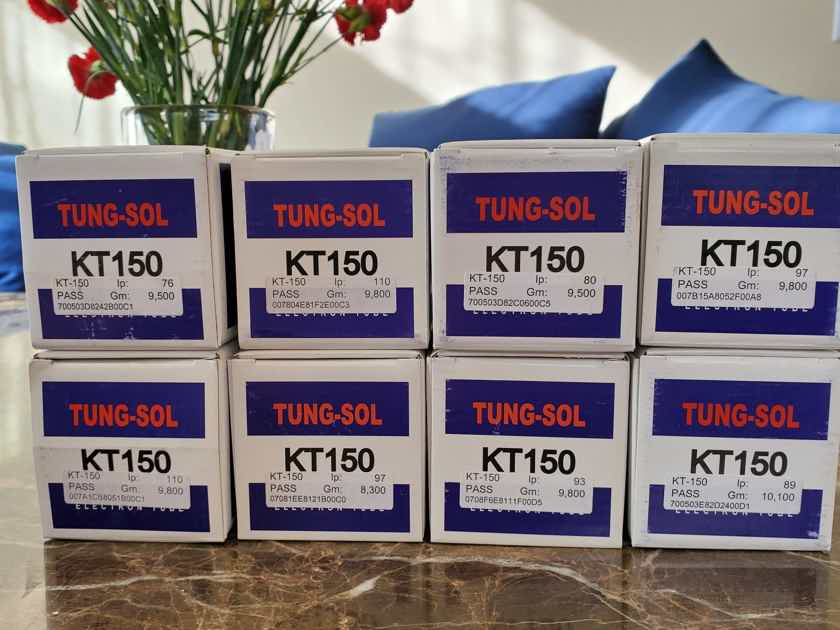 Tung-Sol KT150  16 tubes