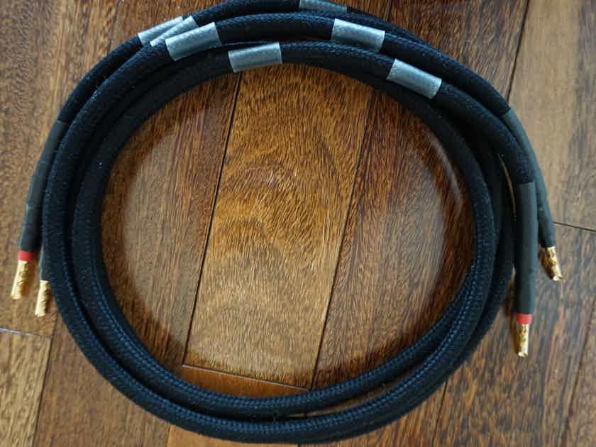 LessLoss C-MARC Speaker Cables, 5ft, Bananas