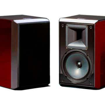 CASTA ACOUSTICS Model A Bookshelf Speakers (Rosenut Pia...