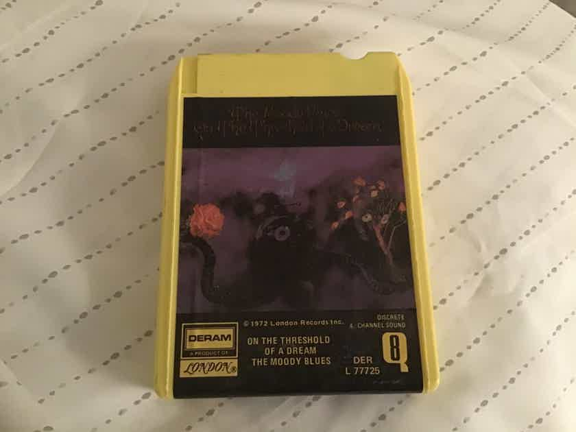 Moody Blues  On The Threshold Of A Dream Quadraphonic 8 Track