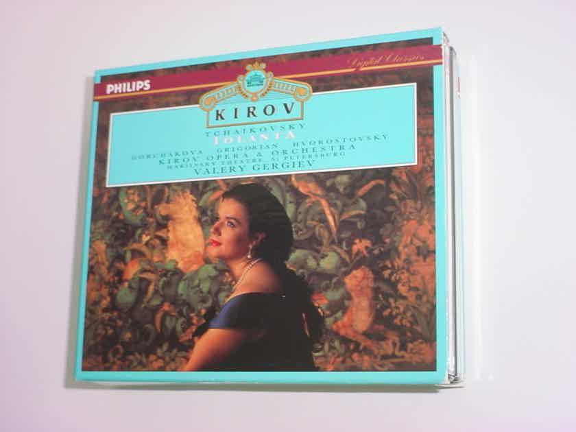 PHILIPS Digital Classics 2 cd box set KIROV Tchaikovsky Iolanta Valery Gergiev