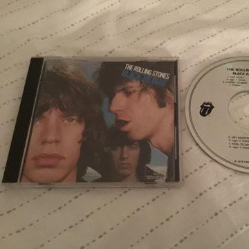 The Rolling Stones Not Remastered Compact Disc CK40495 Black And Blue