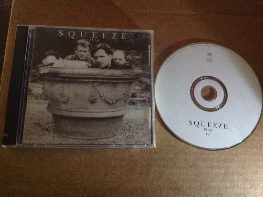 Squeeze  - Play Reprise Records Compact Disc