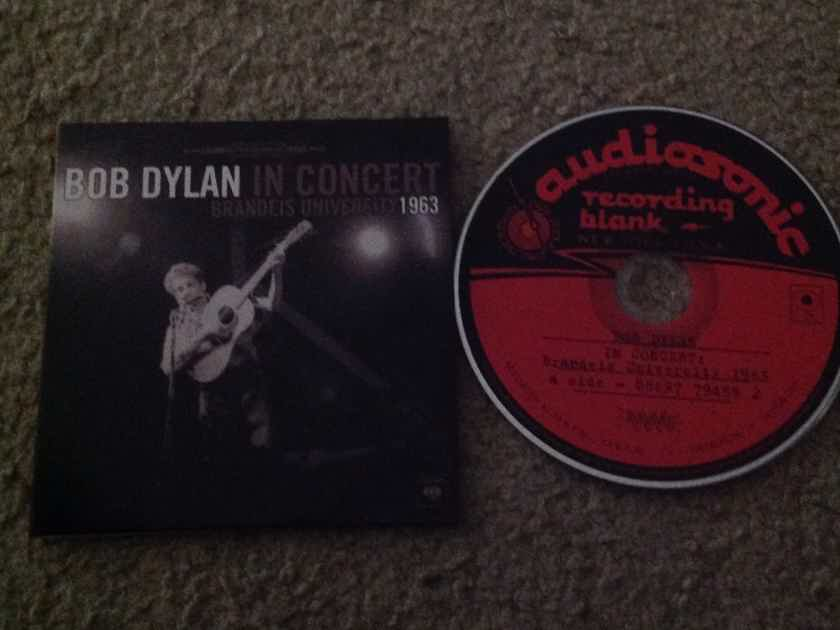 Bob Dylan - In Concert Brandeis University 1963 Columbia Records Compact Disc