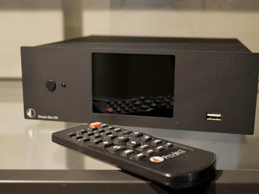 Pro-Ject Audio Systems Stream-Box DS Net - Hi-Rez Audio Streamer