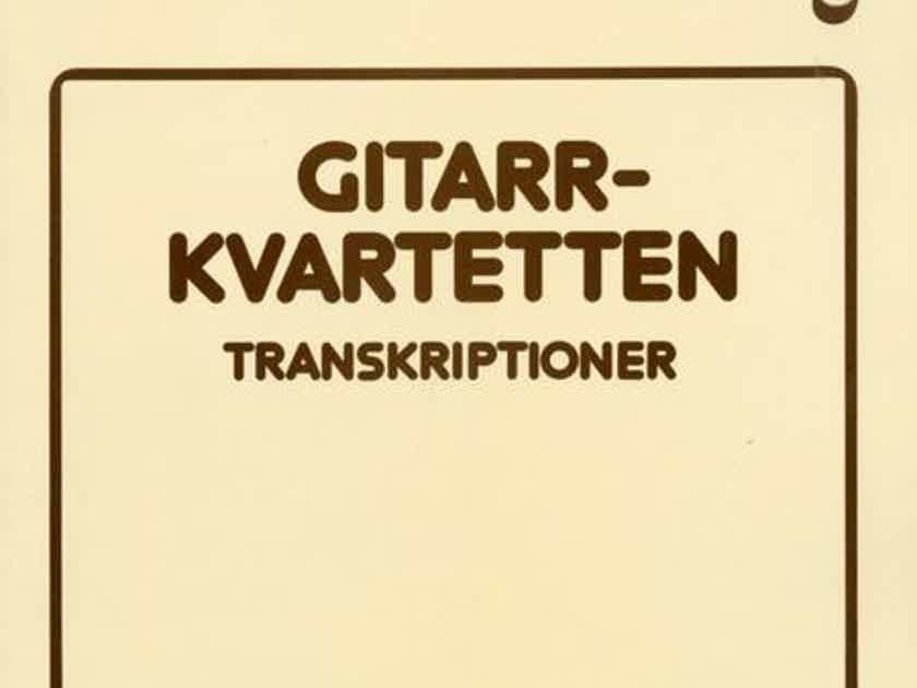 Gitarrkvartetten   Transkriptioner - Opus 3 Recordings