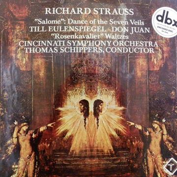 RICHARD STRAUSS CINCINNATI SYM. ORCH.