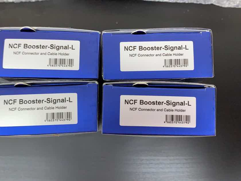 Furutech NCF Booster Signal L x4 units Brand New!!