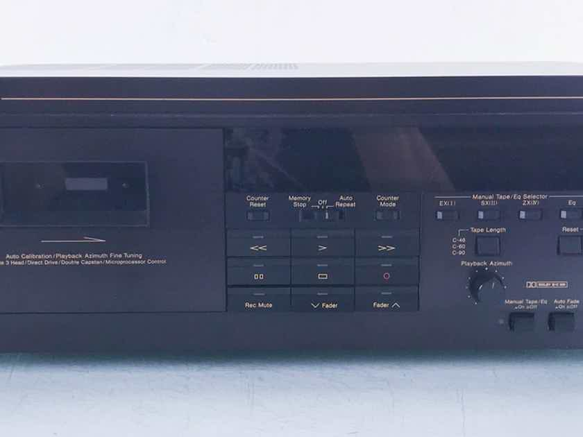 Nakamichi CR-7A Cassette Deck Tape Recorder; Upgraded Gear Drive (14460)