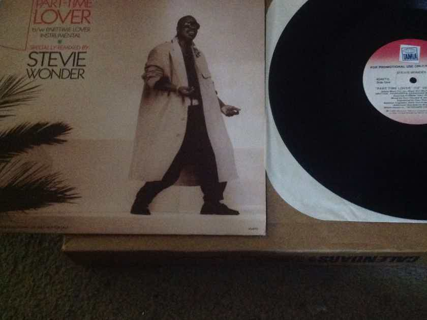 Stevie Wonder  - Part-Time Lover Tamla Records Promo 12 Inch Single  Extended Version NM