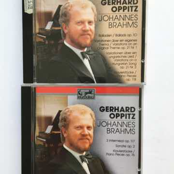 Gerhard Oppitz Johannes Brahms  Eurodisc 2 cds 1990 Bmg classics