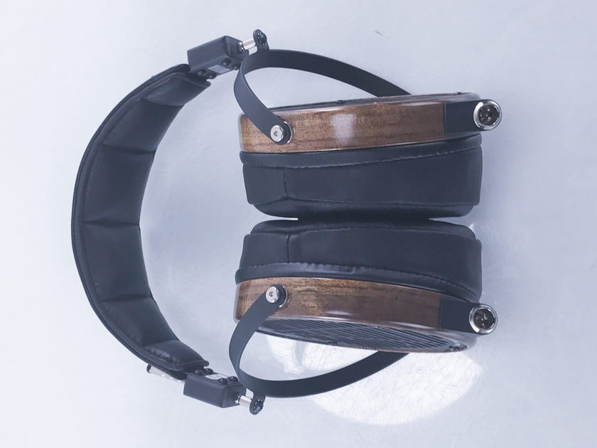 Audeze  LCD-2 Planar Headphones; Black w/ Shedua; LCD2 (2666)