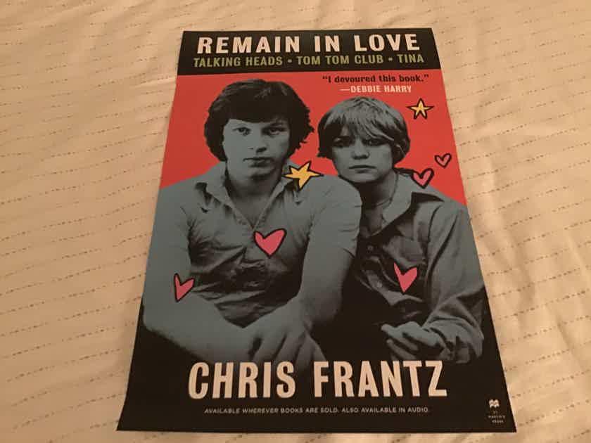 Chris Frantz Remain In Love Promo Poster