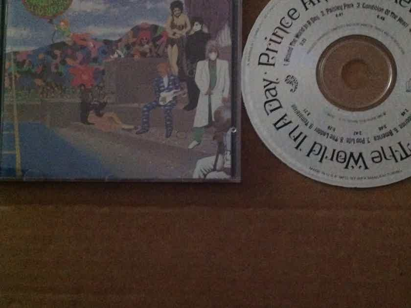 Prince And The Revolution - Around The World In A Day Paisley Park Records Compact Disc