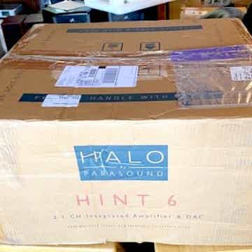 Parasound Ref Halo series Int w DAC and features: