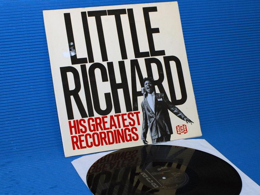 "LITTLE RICHARD   - ""His Greatest Recordings"" -  ACE UK import 1984 mono"