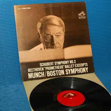 "SCHUBERT / Munch  - ""Symphony 2"" - RCA 'Shaded Dog' 196..."
