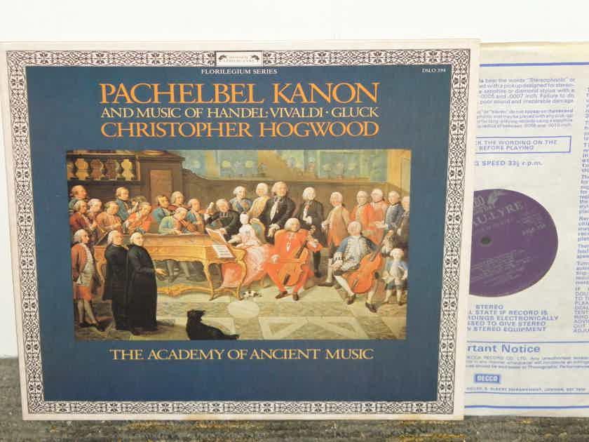 Hogwood/Academy of Ancient Music - Pachelbel KANON+more UK Import Decca L'Oiseau Lyre DLSO 594
