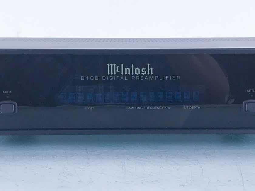 McIntosh D100 DAC; D/A Converter; D-100 (16773)
