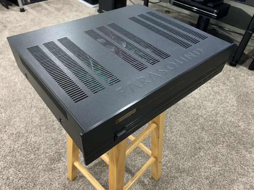 Parasound HCA-750a. New Capacitors.