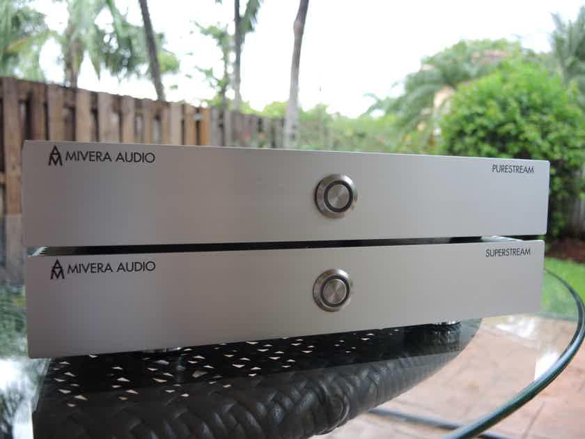 Mivera Audio Superstreamer and Purestream DAC/Streamer Combo