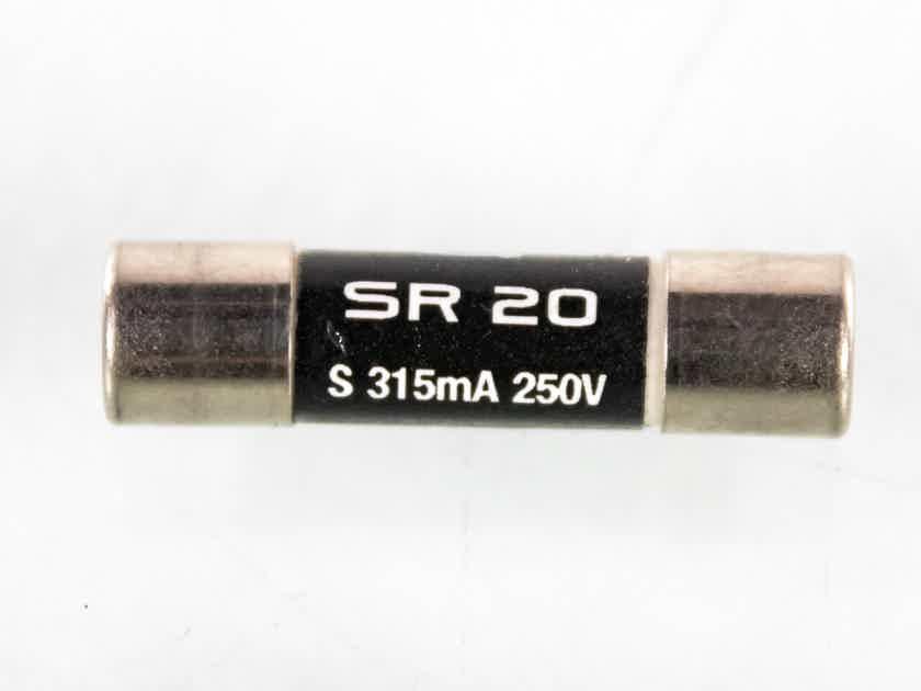 Synergistic Research SR 20 315mA Slo-Blo Fuse; Small (19914)