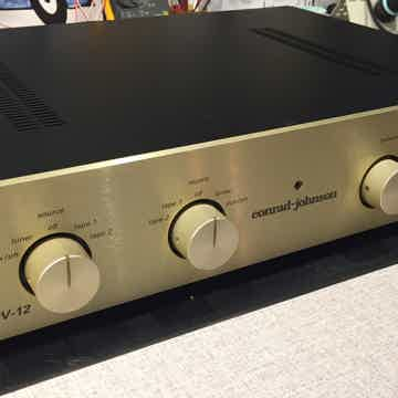 Conrad Johnson PV12 tube preamp modified by Bob Backert