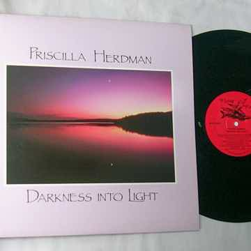 PRISCILLA HERDMAN -  - DARKNESS INTO LIGHT - RARE 1987 ...