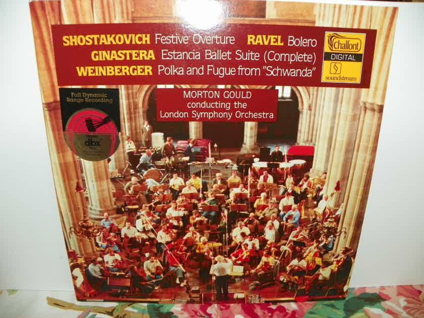 MORTON GOULD - SHOSTAKOVICH/RAVEL/GINASTERA/WEINBERGER dbx