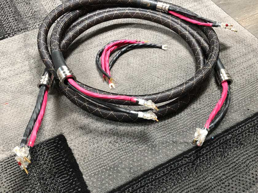 Audio Sensibility Signature Speaker Cables 2.5M With Jumpers