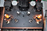 3C24 power amp, designed and built by Paul Birkeland