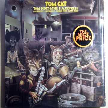Tom Cat - Tom Scott & The L.A. Express EX+ Vinyl LP Ode...