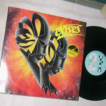 EXISES - SELF TITLED ALBUM - - RARE ORIG 1986 LP -  MEG...