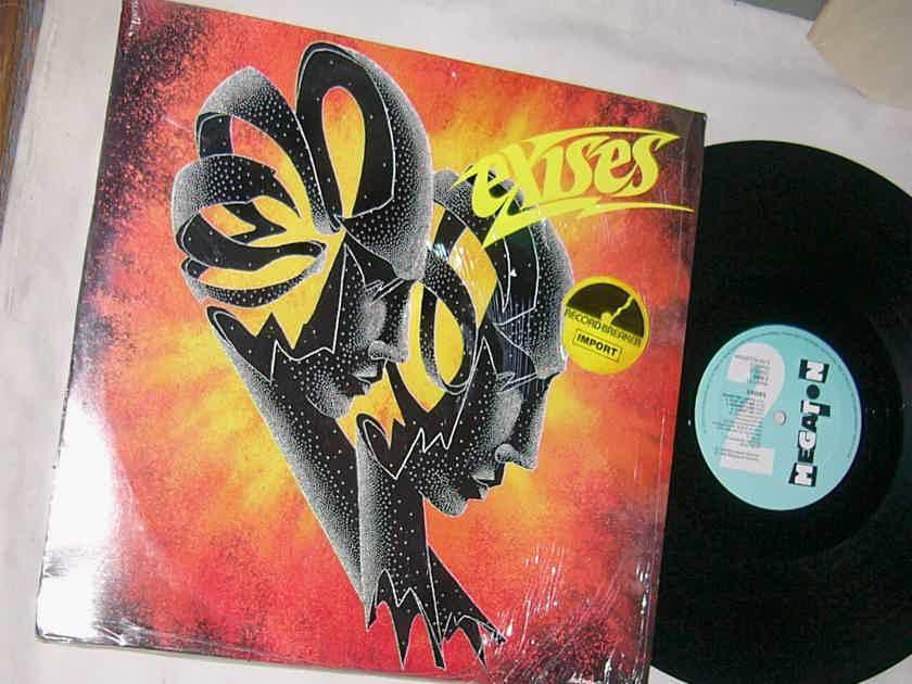 EXISES - SELF TITLED ALBUM - - RARE ORIG 1986 LP -  MEGATON SHRINK - HOLLAND - METAL