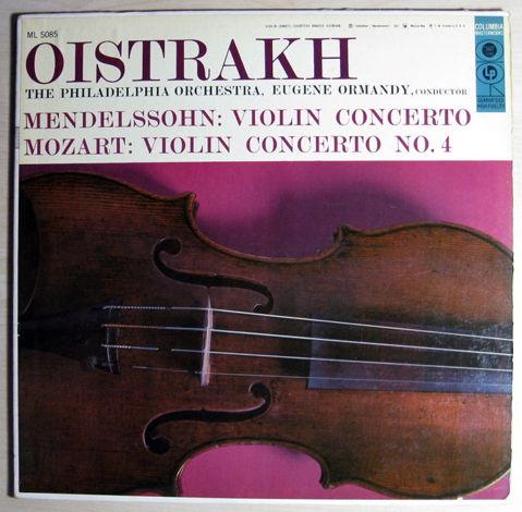 Oistrakh, The Philadelphia Orchestra, Ormandy