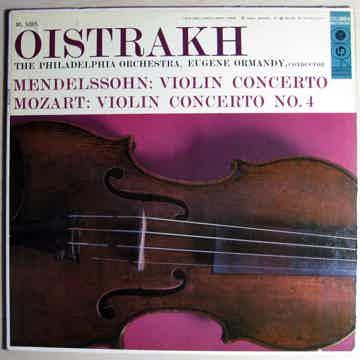 Oistrakh, The Philadelphia Orchestra, Ormandy - Mendels...
