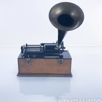 Edison Home Phonograph Antique Wax Cylinder Player