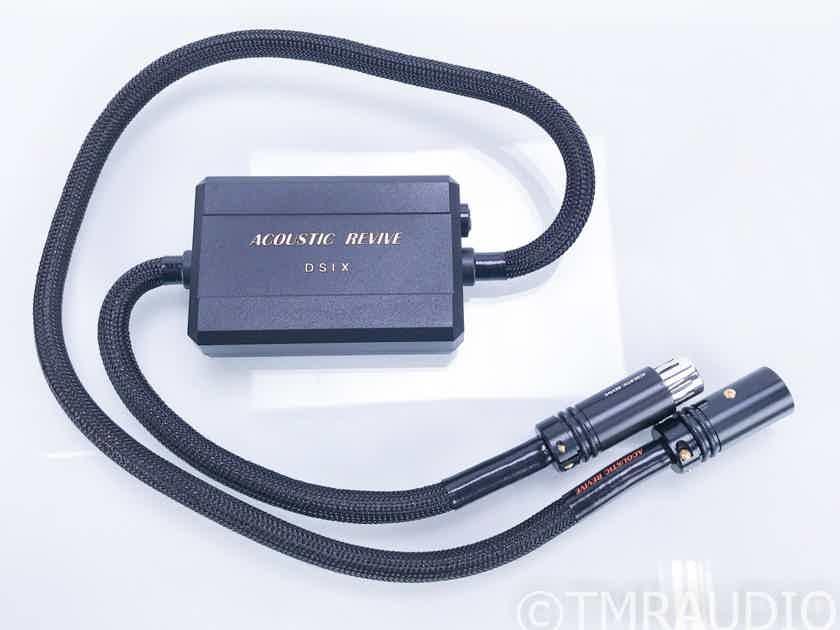Acoustic Revive DSIX-1.0 BPA II XLR AES/EBU Cable; 1m Digital Interconnect (17783)