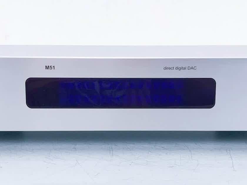 NAD M51 DAC D/A Converter; M-51 (14167)