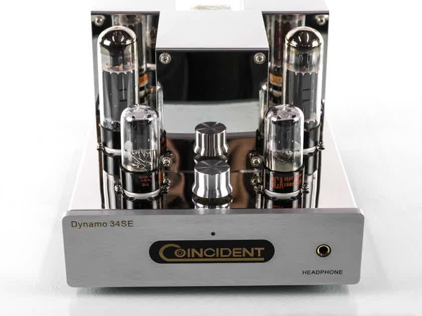 Coincident Dynamo 34SE Stereo Tube Integrated Amplifier; IsoAcoustics Feet (28329)