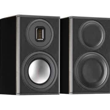 Monitor Audio Platinum PL100-II Bookshelf Speakers (Bla...